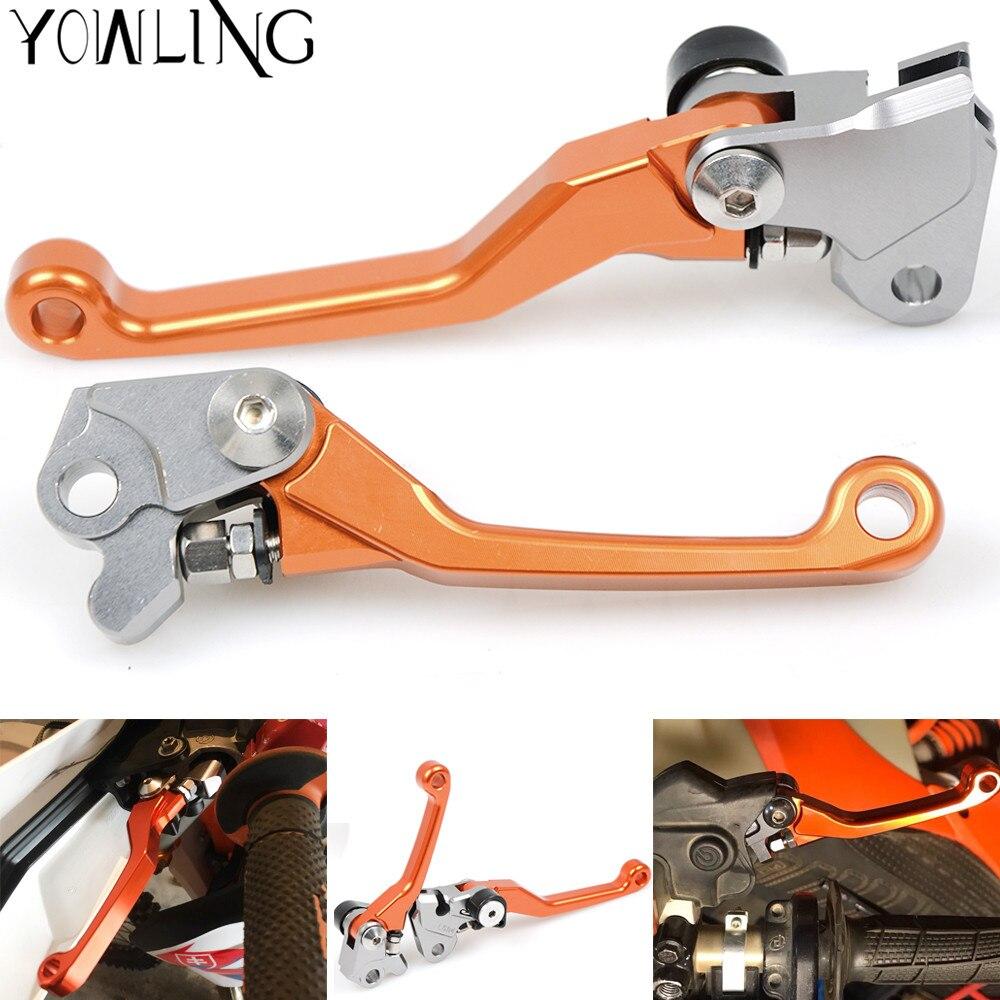 CNC Pivot Foldable Clutch Brake Lever For KTM 250 SX XC-W XC-F XCF-W XC EXC EXC-F 200 EXC SIX DAYS neverland orange cnc pivot brake clutch levers for ktm 250exc 250exc f 250sx 250xc 250 exc exc f sx xc 2006 2013