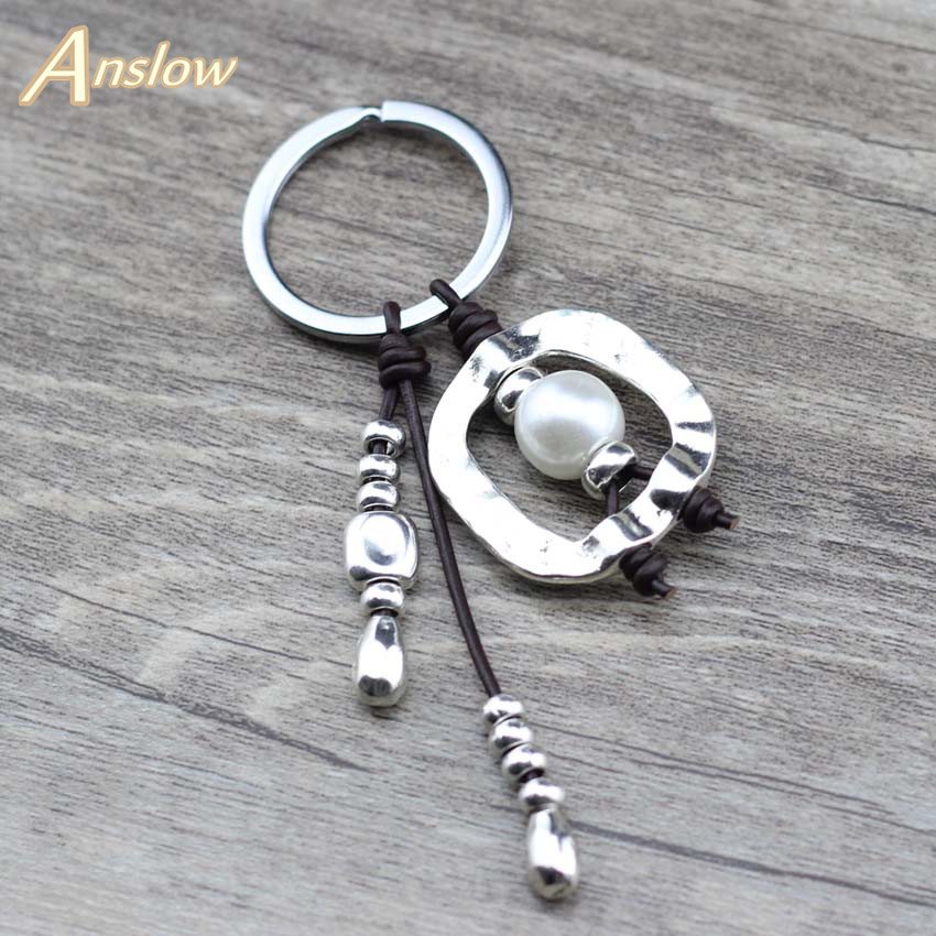 Anslow  Trendy Fashion Jewelry Creative Original Design Key Chain Keyring Charm Bag Auto Pendant Gift Wholesale Price LOW0003KY