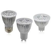 10Pcs GU10 MR16 E27 LED Light Bulb 9W 12W 15W 110V 220V 85 265V Dimmable Bombillas