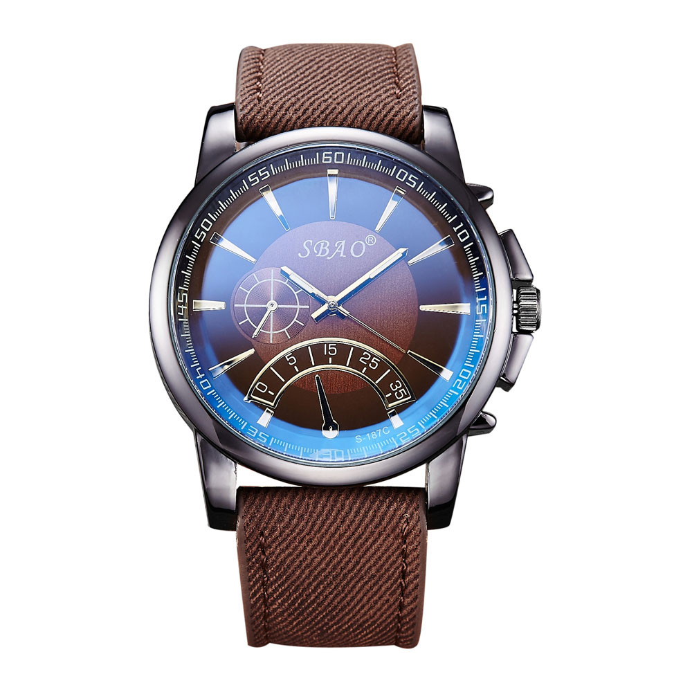 New Fashion Mens Leather Band Stainless Steel Sport Quartz Wrist Watches so Business Watch Men Brand Luxury Relogio masculino
