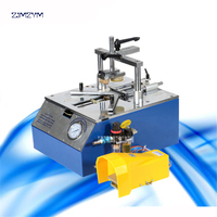 JS203 5211 Bench Top Type Picture Frame Underpinner 0.6 0.8 MPa Working pressure Desktop pneumatic nail angle machine 110 mm
