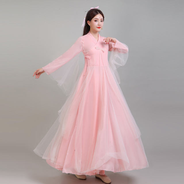 25601906b Ancient Chinese Costume Women Clothing Clothes Robes Traditional Beautiful  Dance Costumes Han Tang Dynasty Dress Hanfu