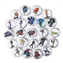 Juego de 24 unidades de Link para colección, colección de cartas de Amiibo Ntag215, Zelda Breath, NFC