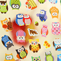2PCS New DIY Kawaii Cartoon 3D Sponge Bubble Sticker Lovely Cat Dog Giraffe Elephant for Kids Children Gift Toys