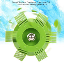 Универсальный пластиковый автомобильный радиатор конденсатора ребро испарителя выпрямитель гребень для змеевика для авто системы охлаждения инструмент