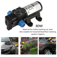 Cimiva Portable DC12V 80W High Pressure Electric Water Pump Garden Pool Pump Upgrade Trigger Sprayer For