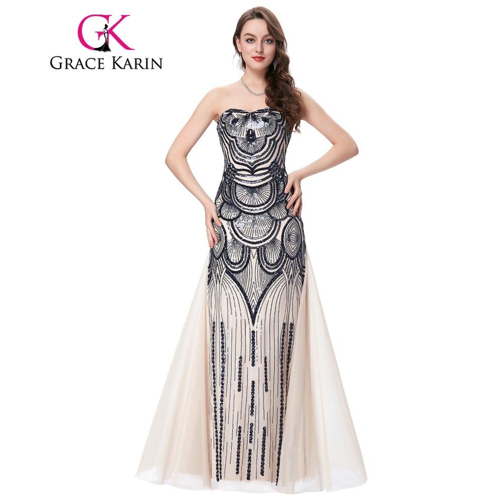 Strapless Mermaid Prom Dress
