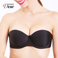 Comeondear Push Up Self Adhesive Stick On Bra Shop Para Mulher Lingerie Strapless Magic Sexy Woman