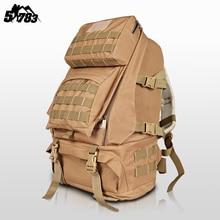 51783 2016 Hot Sale Men Women Unisex 50L Outdoor Military Tactical Backpack Camping Hiking Bag Trekking Sport Rucksacks