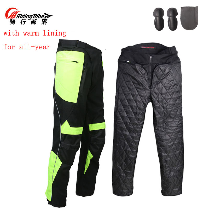 2017 autumn winter Riding Tribe Motorcycle Pants, Motorbike Racing trousers with protector Knee hip M L XL 2XL 3XL 4XL 2xl 3xl