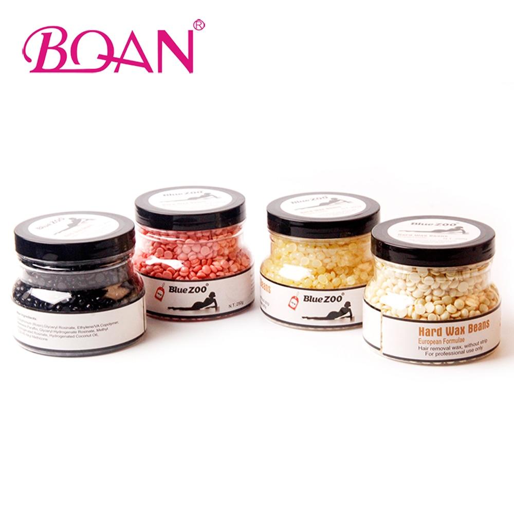 New 4 Color Hot Film Hard Wax Beans Pellet Waxing Bikini Hair