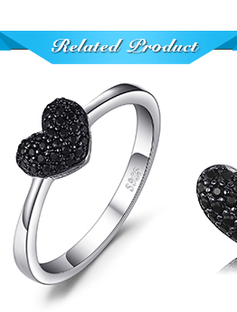 HTB1t SpjnTI8KJjSsphq6AFppXaR JewelryPalace Heart Natural Black Spinel Ring 925 Sterling Silver Rings for Women Engagement Ring Silver 925 Gemstones Jewelry