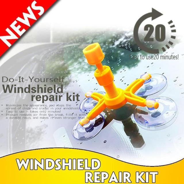 DIY Car Window Repair Tools Windshield Glass Scratch Repair Kits Windscreen Crack Restore Window Screen Polishing Car-styling