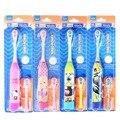 Crianças Escova de Dentes Elétrica escova de dentes Elétrica Para As Crianças dos desenhos animados Ultrasonic Massagem Ultra-sônica Escova de Dentes Escova de Dentes Oral Care Hyg