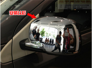 2 pcs ABS Chrome Side Specchi Retrovisori Copertura Trim Per Dodge Journey JCUV 2010 2011 2012 2013 2014 2015 2016 2017 2018