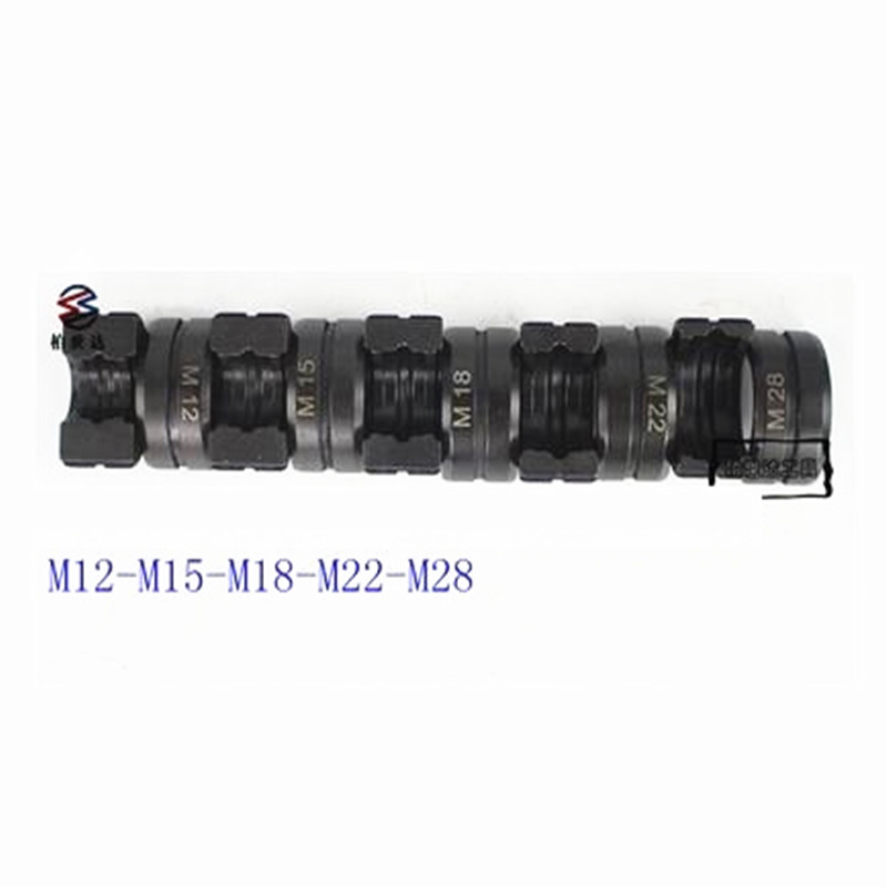 M Dies for Hydraulic Pipe Crimping Tools M12, M15, M18, M22 & M28, Applicable for Copper& Al fittings Pressure Ttube Mould-in Hydraulic Tools from Tools    1