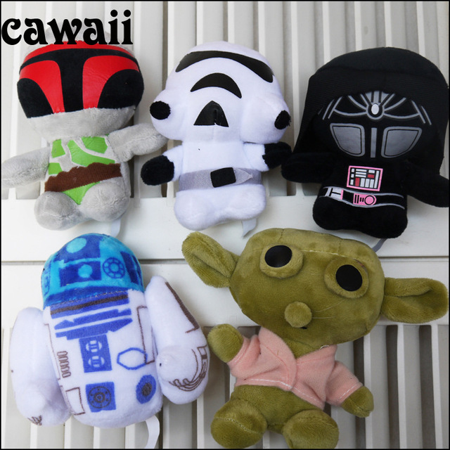 1 piece Star war Plush pet dog Sound squeakers squeaky Toy plush dog toy dog puppy Sound Toy cartoon dog chew toy pet product