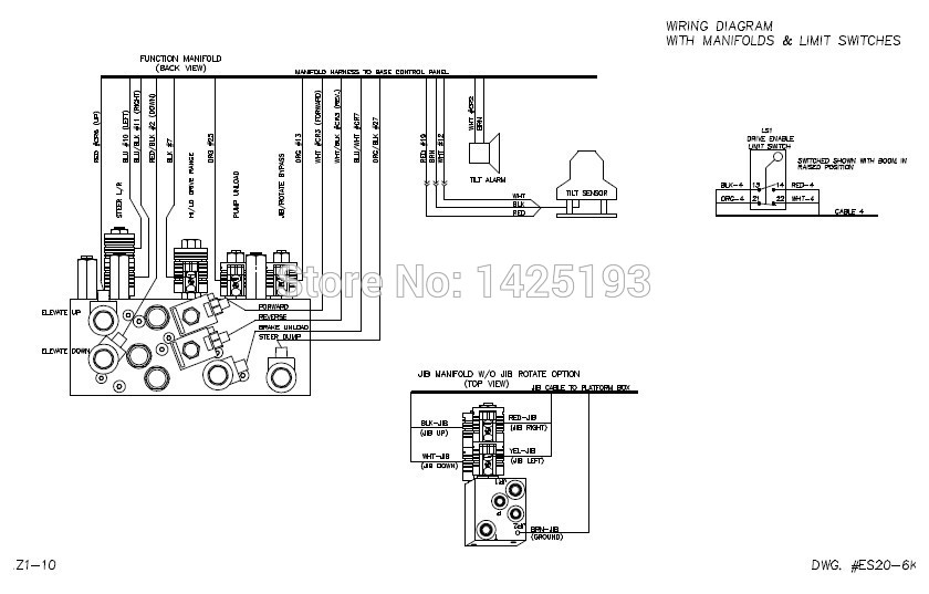 Genie Gs 2032 Wiring Harness : 28 Wiring Diagram Images