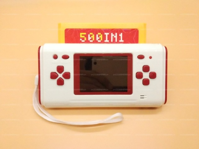 2.8 Inch Handheld Game Console Game Player For Nes 8 Bit Games For Nes Games With 60 Pin Cartridge Slot 88 Built-in Games