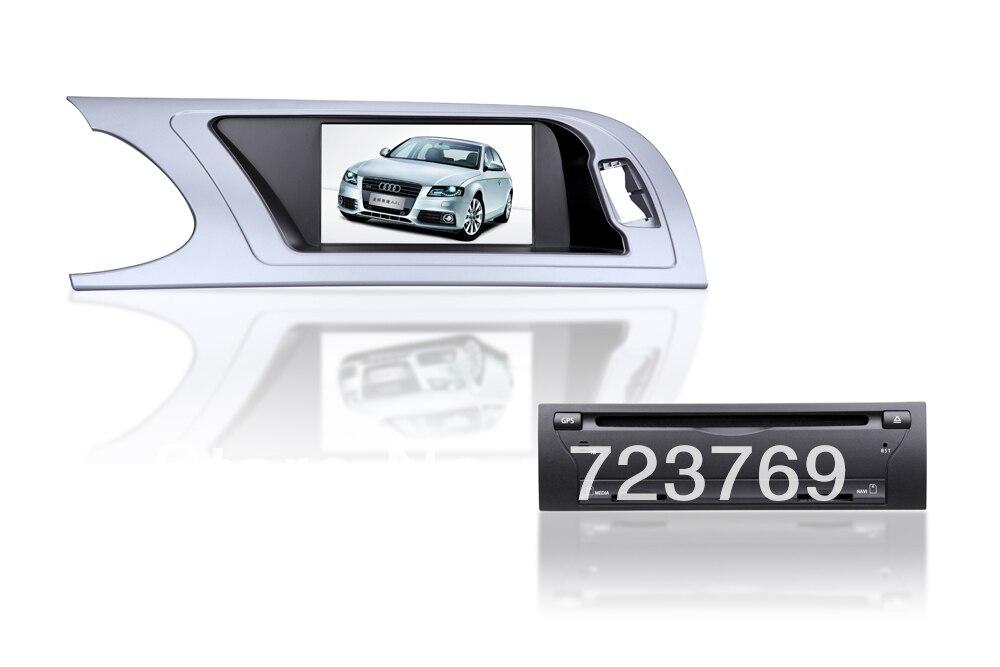 Dvd-плеер GPS навигации Системы Аудиомагнитолы автомобильные Системы media стерео для Audi A4 (2008-2012) с Bluetooth