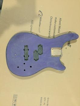 Afanti Music gitara elektryczna DIY korpus gitary elektrycznej (ADK-728) tanie i dobre opinie Beginner Unisex Do profesjonalnych wykonań Nauka w domu LIPA Drewno z Brazylii None Electric guitar Electric guitar body