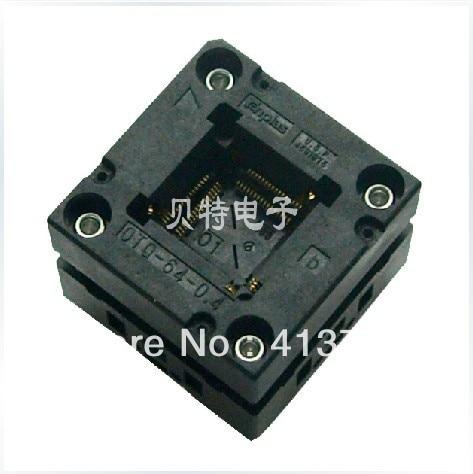 Valley OTQ-64-0.4-01 block QFP64 programming block burning tests, conversion, imports of ic test seat otq 100 0 65 03 burning qfp100 adapter conversion
