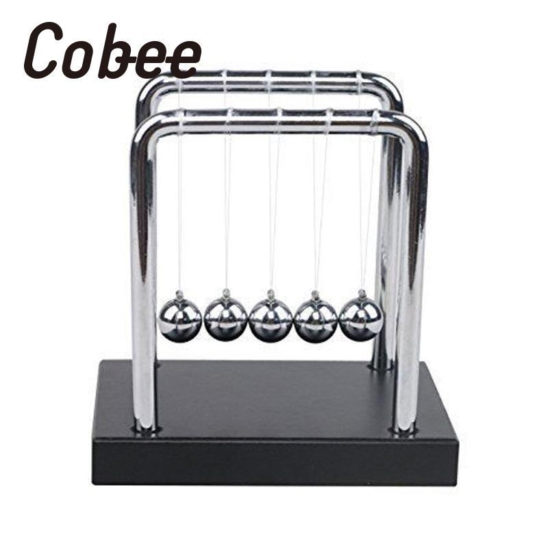 Cobee física ciência conservação de energia leis pêndulo mesa brinquedo berço balanceamento bolas