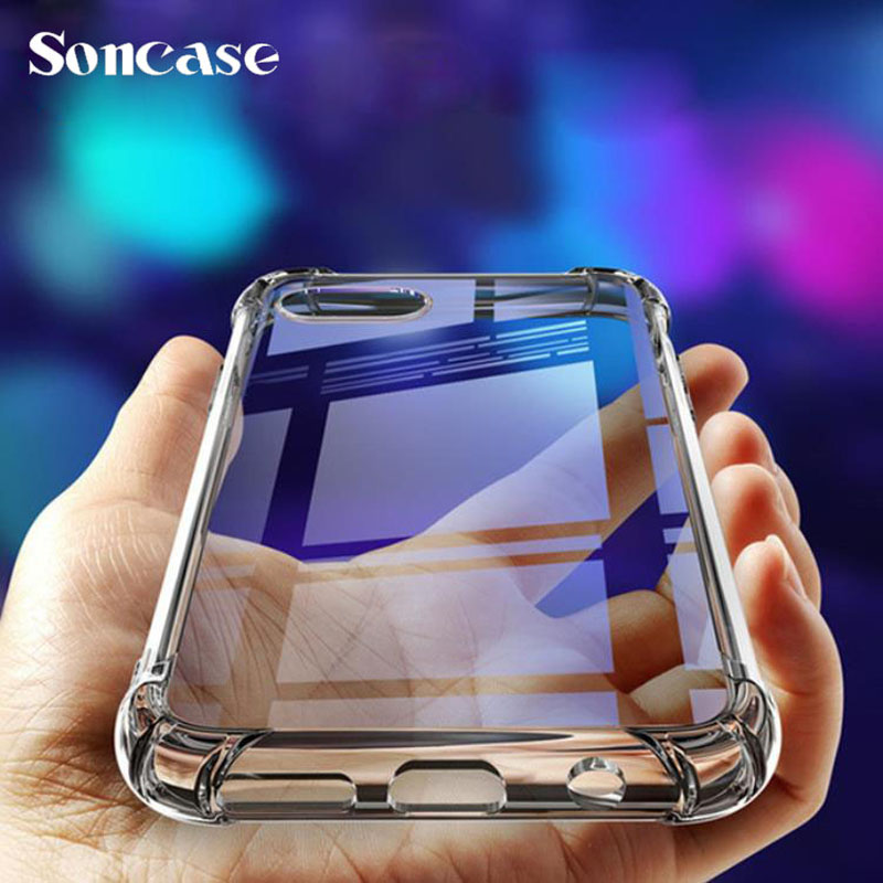 Shockproof <font><b>Case</b></font> for Huawei <font><b>Honor</b></font> 6A 7A 7X 8A 8X 8C 9i 9N 10 10i 20i <font><b>9</b></font> <font><b>Lite</b></font> Pro <font><b>Case</b></font> Bumper Soft <font><b>Silicone</b></font> Transparent Back Cover image