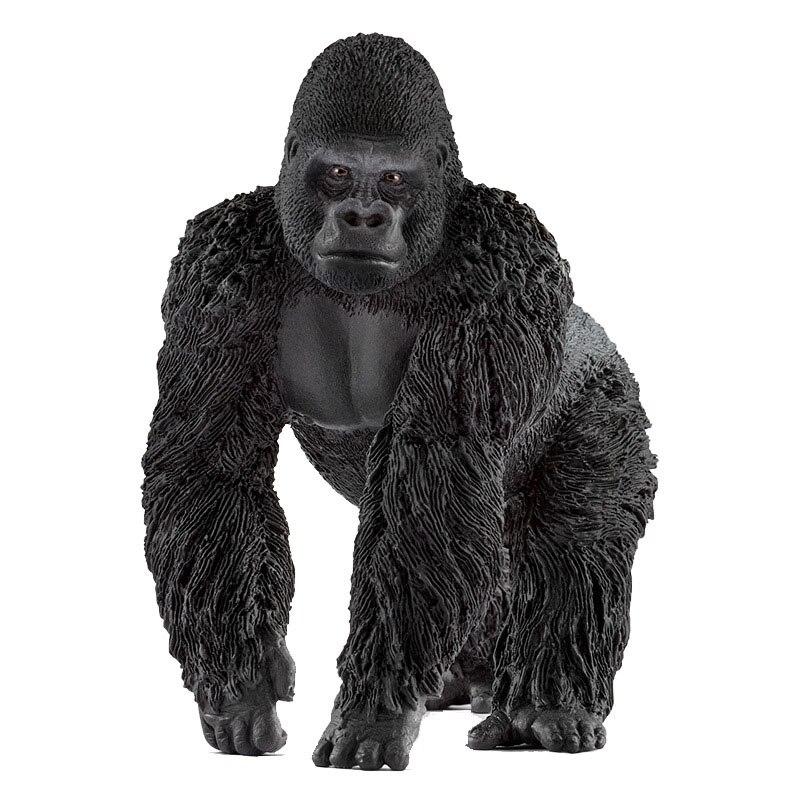 Gorila masculino simulación de juguete de fauna modelo juguetes de enseñanza temprana jardín de infantes Cubot Max 2 Android 9,0 Octa-Core 6,8