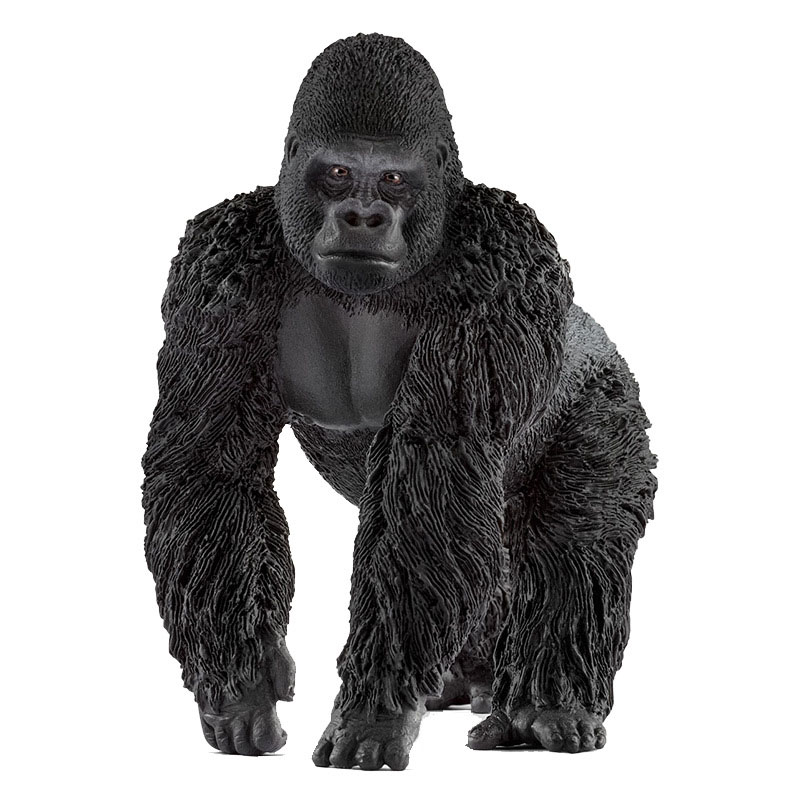 Male Gorilla Simulation Of Wildlife Toy Model Kindergarten Early Teaching Toys