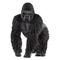 Mannelijke gorilla simulatie van wildlife speelgoed model kleuterschool vroege onderwijs speelgoed
