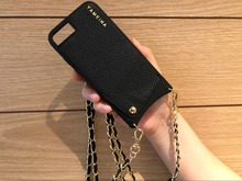 Stylish Wallet bag for Credit Cards Crossbody Case Cover with Strap long chain for Iphone 11 PRO XS MAX XR X 6S 6 7 8 plus case