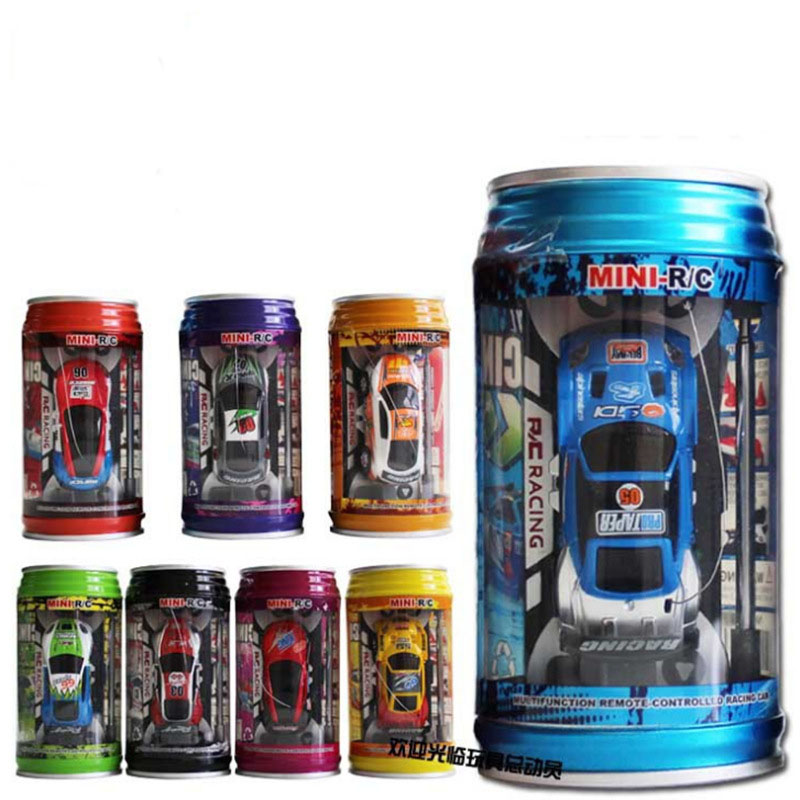 4CH Mini RC Car Coke Speed Truck Micro Radio Remote Control Racing Cars Electric Charging Stunt Vehicle Toys Children Gifts