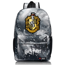 Popular Ravenclaw Hogwarts Slytherin Gryffindor Backpacks for Teen Girls Boy School bag