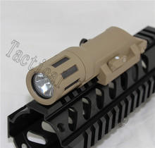 Tactical Hunting Outdoor Weapon Mounted Light WMLx Constant Momentary Strobe Long LED Flashlight Airsoft Shooting fit 20 mm Rail