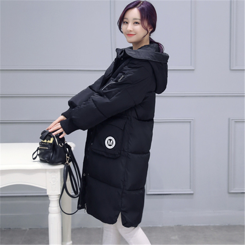 2016 Big Plus Size Korea Fashion Female Outwear Thick Warm Parka Oversize Down Winter Coat Women