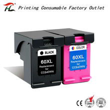 HTL 60xl ink cartridge for hp60xl HP 60XL compatible for HP D2500 F4200 F4272 F4280 F4292 F4480 C4680 inkjet printer