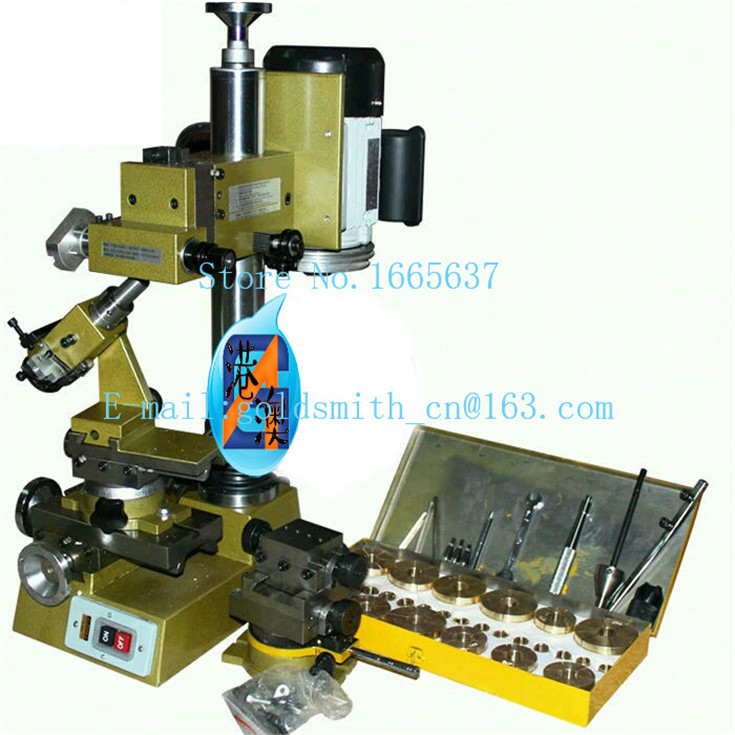 Hajet Jewelry Equipment 220V Bangle Faceting Machine Automatic Ring Faceting Machine