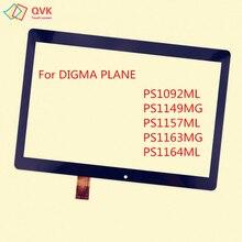 10,1 дюймов для Digma Plane 1537E 1541E 1550S 1551S 1710T 1596 3g 4G емкостный сенсорный экран PS1092ML PS1157ML PS1163MG
