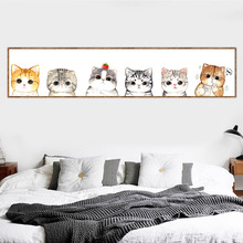 Diy 5d full diamond painting mosaic cats landscape Daimond cartoon cat Diamond Embroidery animals