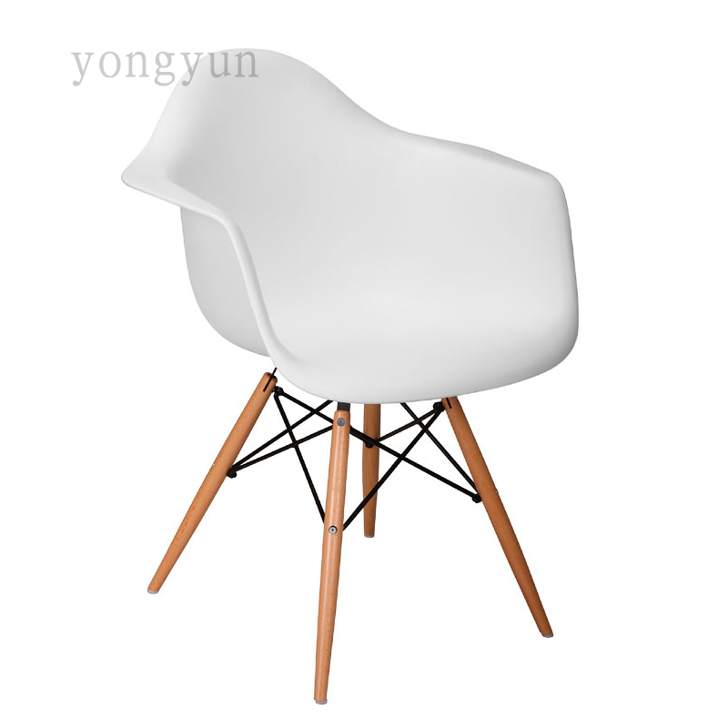 Fashion minimalist Modern Bedroom Simple Dining Chair Living Room Furniture for Home Table Casual Plastic dinning Leisure Chairs