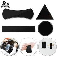 IKSNAIL липкий гелевый коврик автомобильный держатель для мобильного телефона и планшетов портативный крепкий стенд клей-стикер Противоскользящий коврик моющийся