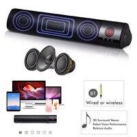2018 FM Portable Wireless Bluetooth Speaker Stereo Subwoofer Card Insert Speaker Box Support TF Card Insert