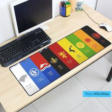 hot sales Game of Thrones mouse pad 800x300x3mm mousepad laptop padmouse