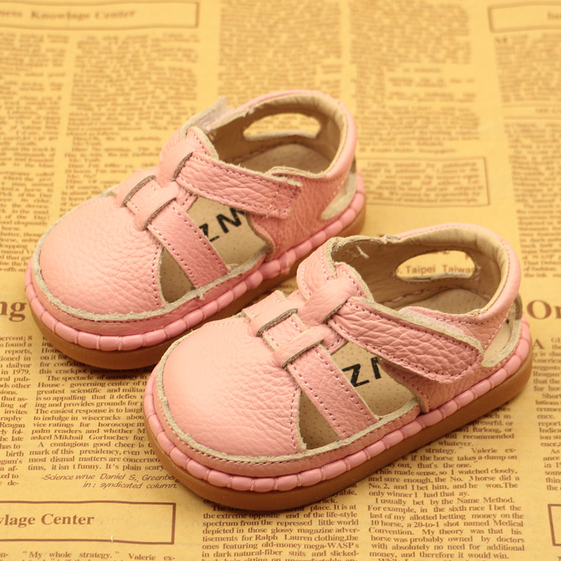 Image 3 - Summer New Baby Toddler Shoes Leather Baby Sandals Soft Bottom Boys And Girls Sandals Children Shoes Breathable 0 3 Years ShoesSandals & Clogs   -