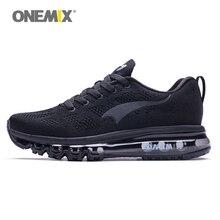 ONEMIX новые кроссовки для бега женская спортивная обувь воздушная подушка для мужчин спортивная мягкая дышащая сетка Музыка Ритм прогулки на открытом воздухе