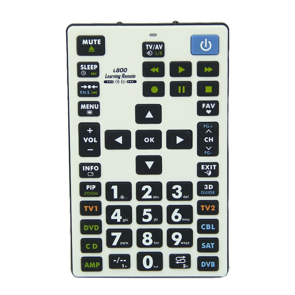 CHUNGHOP Learning Remote Control Controller 8 Devices L800 For TV SAT DVD chunghop rm l7 multifunctional learning remote control silver