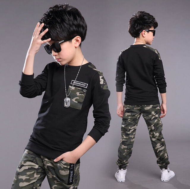 Teen Costume Letter Tracksuit 1