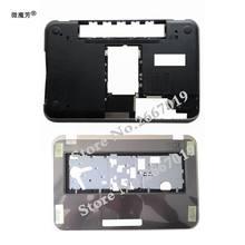 Novo portátil inferior base caso capa porta para dell 15r 5520 7520 5525 m521r p/n k1r3m 0k1r3m/palmrest superior capa