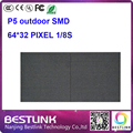 P5 открытый smd2727 rgb светодиодный дисплей модуль 64*32 пикселей 32*16 см 1/8 s светодиодные панели наружных светодиодных видео стены светодиодный экран рекламы доска